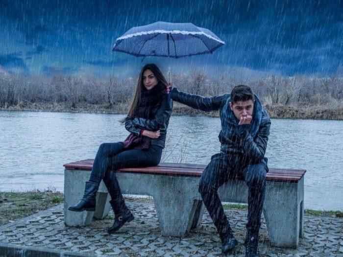 зонтик для любимой