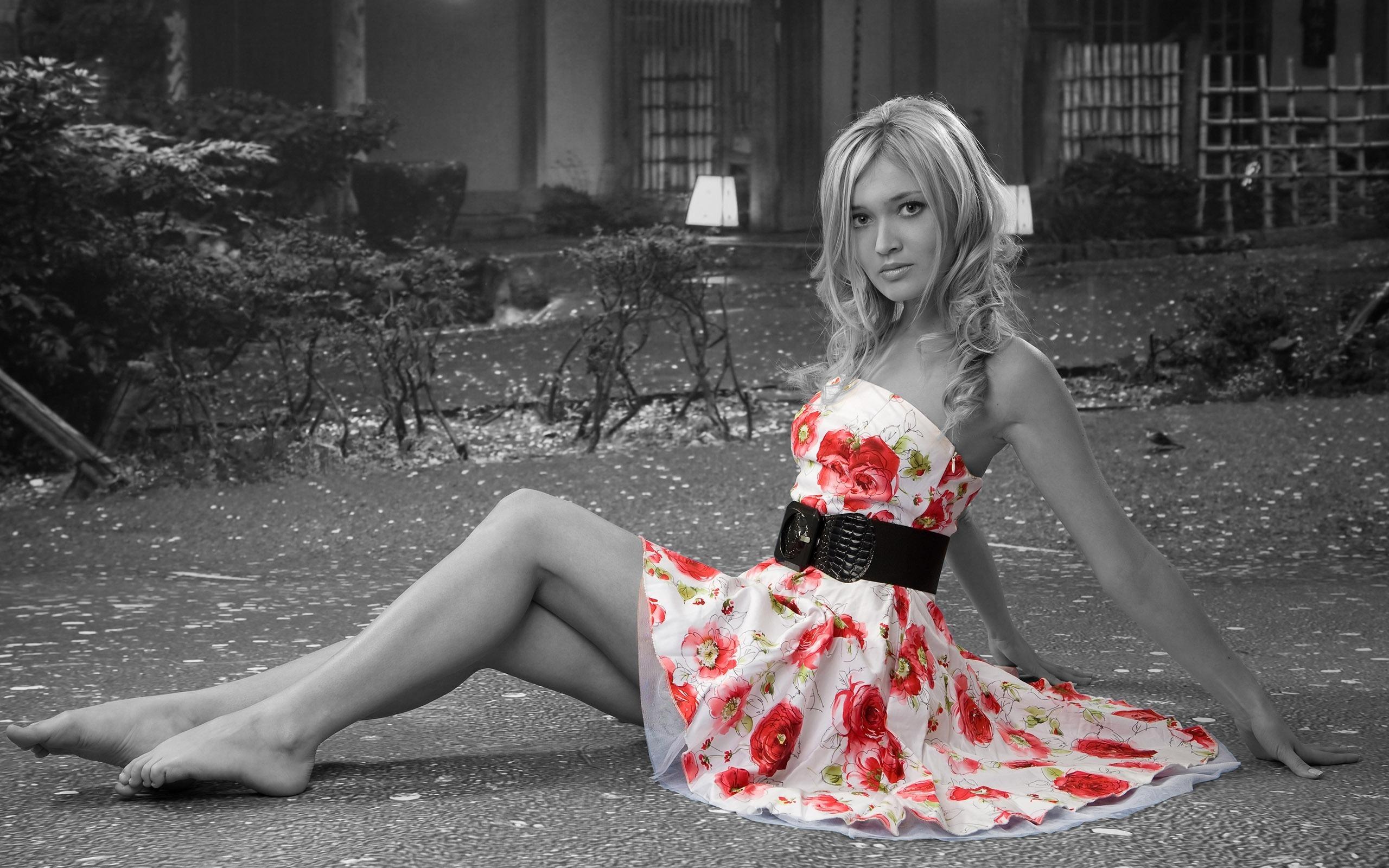 я в этом платье красивая
