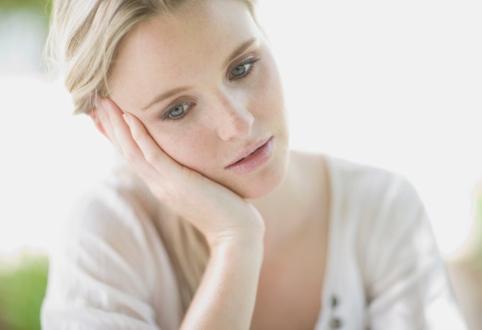 Женщина несчастна