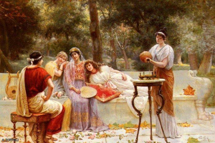 Укрощаем женщину - как это делали древние греки!